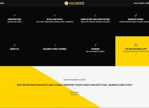 Hazardco home page