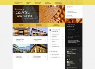 Homepage Courts of New Zealand