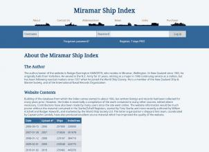 Miramar Ship Index About