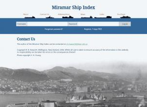 Miramar Ship Index Contact