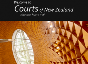 Mobile home page Courts of NZ