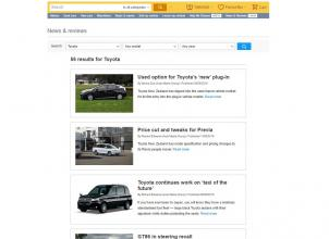 Trade Me Motors News and Reviews Toyota